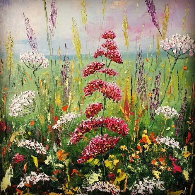 Meadow flowers enchantment, SOLD