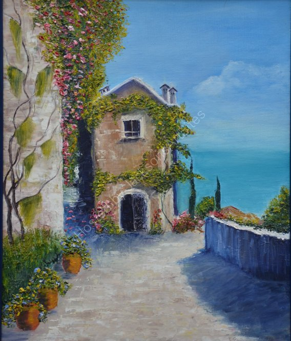 Mediterranean day, SOLD