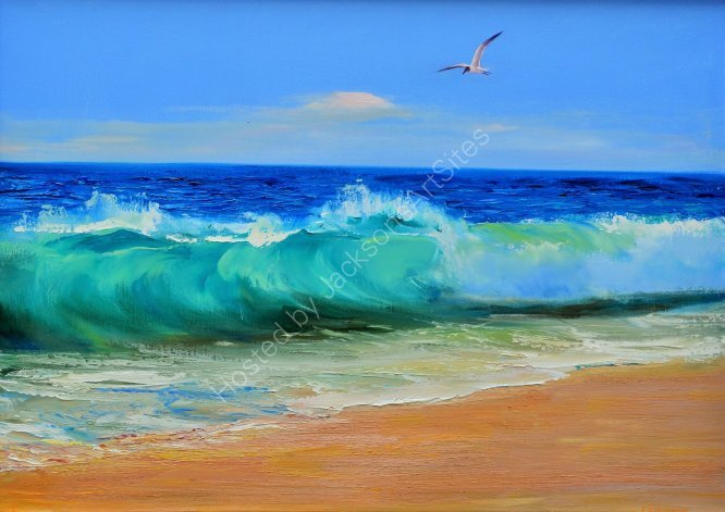 Morning wave, SOLD