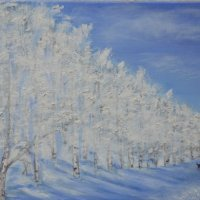 Winter walk, SOLD