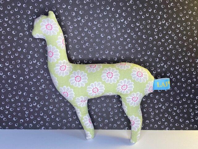 Ashley Alpaca-green daisy