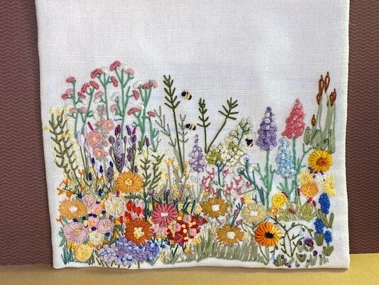 Cottage Garden Embroidery 1