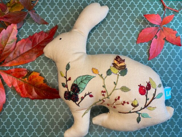 Embroidered Lipley Rabbit