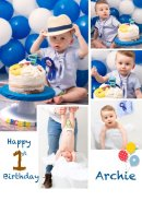 "Happy 1st birthday ""Archie"""