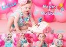 """Happy 1st birthday """" Lillie"""""""