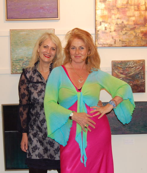 Emma Chapman and Emma Rose Exhibition June 12