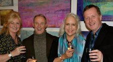 Very jolly Private View in Bath - Dec 15