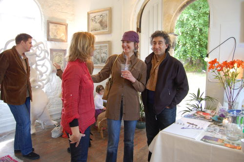 JM Shaw, Charlotte Sorapure and Saied Dai/Art Salon