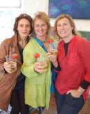 Madeleine Shaw, Emma, Catherine Beale/Art Salon