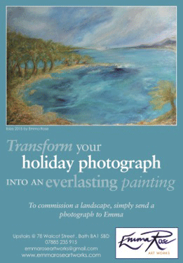Advertising in Bath Magazine Sept 15