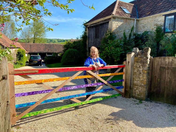 Rainbow Gate for NHS