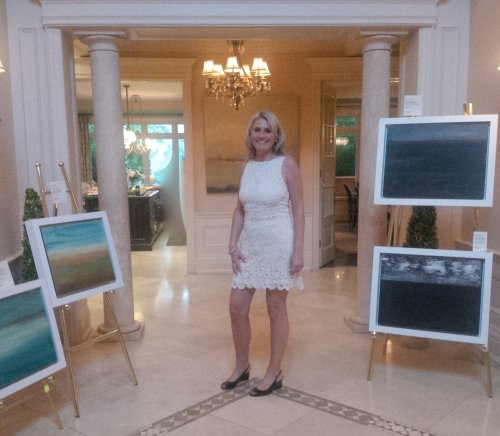 Toronto Opening with Art Agent Annable Strickland-Price June 2014