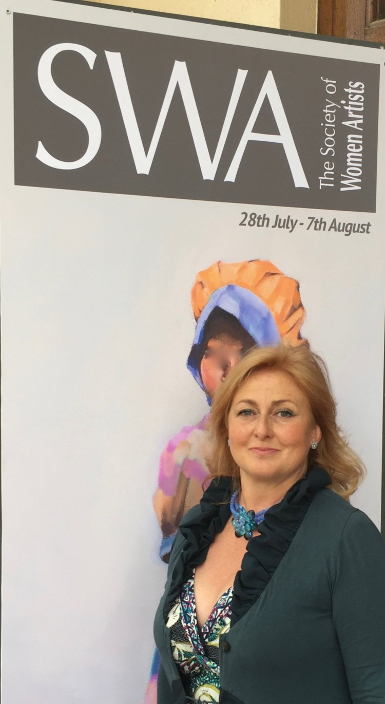 July 2016. The Mall Galleries, London SW1