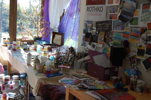 Desk in Studio