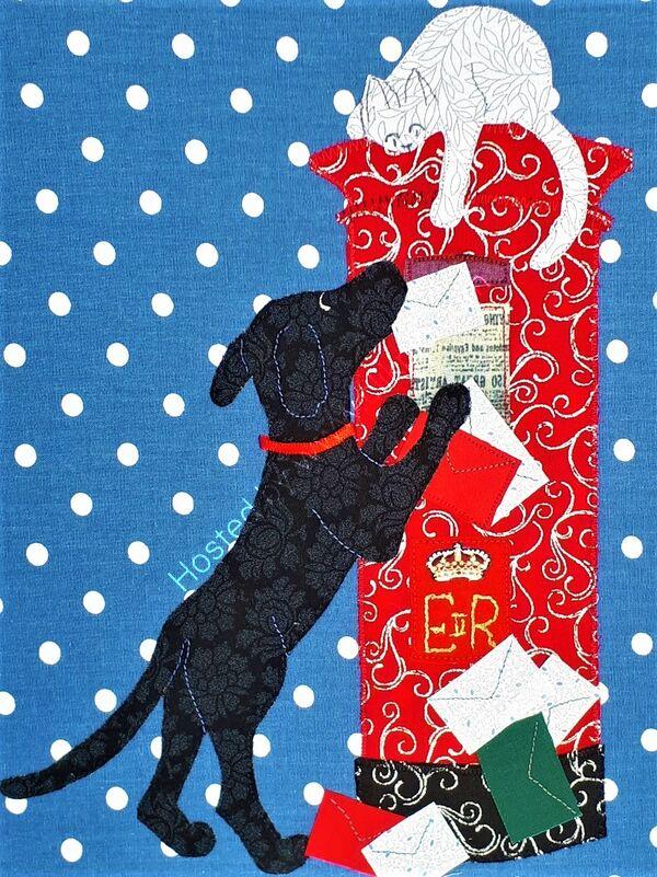 Posting Christmas wishes