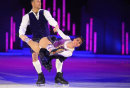 Beth Tweddle in action in the last Dancing on Ice tour show @ the NIA in Birmingham.