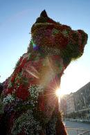 Floral Dog outside Guggenheim Museum, Bilbao.