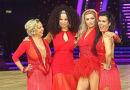 Deborah, Natalie, Abbey & Susanna @ NIA in Birmingham - Jan 2014, start of Strictly Come Dancing tour.