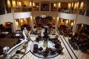 Main Lobby of the Hotel Adlon Kempinski.