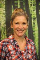 Lisa Faulkener at Camping & Caravan Show at the NEC in Birmingham, Feb 2014