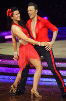 Susanna & Kevin @ NIA in Birmingham - Jan 2014, start of Strictly Come Dancing tour.