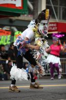 """Part of the """"Carnaval"""" (US spelling - not mine !) on the Streets of San Francisco."""