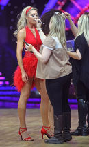 Abbey @ NIA in Birmingham - Jan 2014, start of Strictly Come Dancing tour.