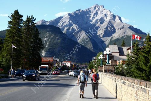 Main street - Banff.