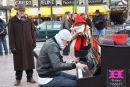 Street entertainer, Paris.
