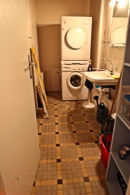 Utility room + washing machine & tumble dryer fitted.