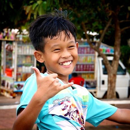 Enfant asiatique