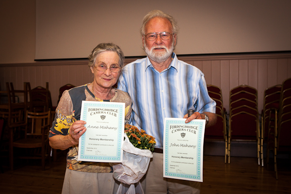 Honorary Certificates awarded