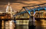 Millenium Bridge and St Paul's