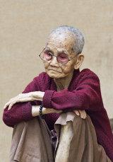 Nun Contemplating Life