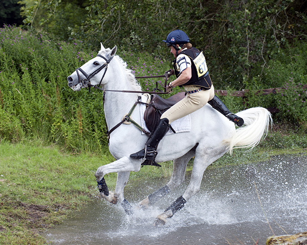 Pippa Funnell at Wilton Horse Trials