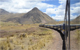 Railway through the Andes