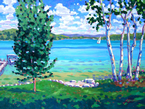 Walloon Lake, A Summer's Day