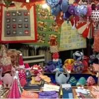 Patchwork crafts by Pamela Miller