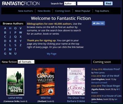 Www fantastic fiction com