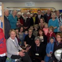 Friends of Oundle Library and supporters against library closures