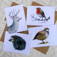 Christmas cards by Elly Eveleigh