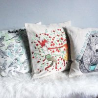 Cushion Covers by The Wish Bone Collective