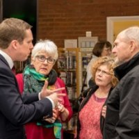 Tom Pursglove Mp in conversation at Oundle Library