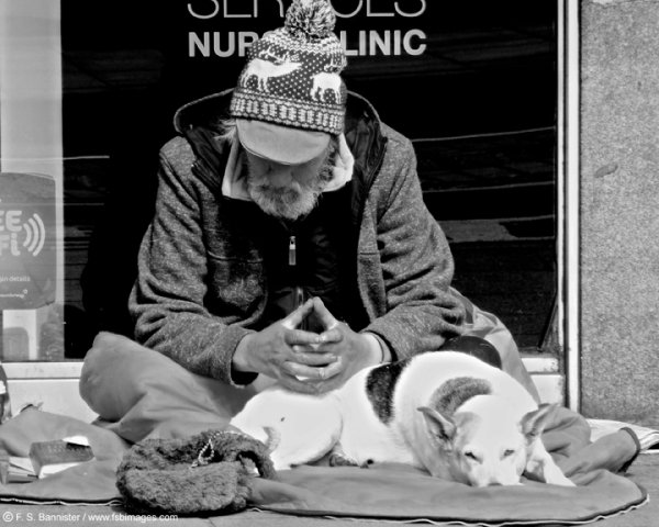 Man & his dog
