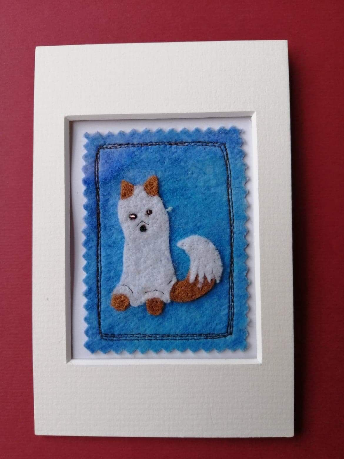 Mixed media ghostly fox Picture