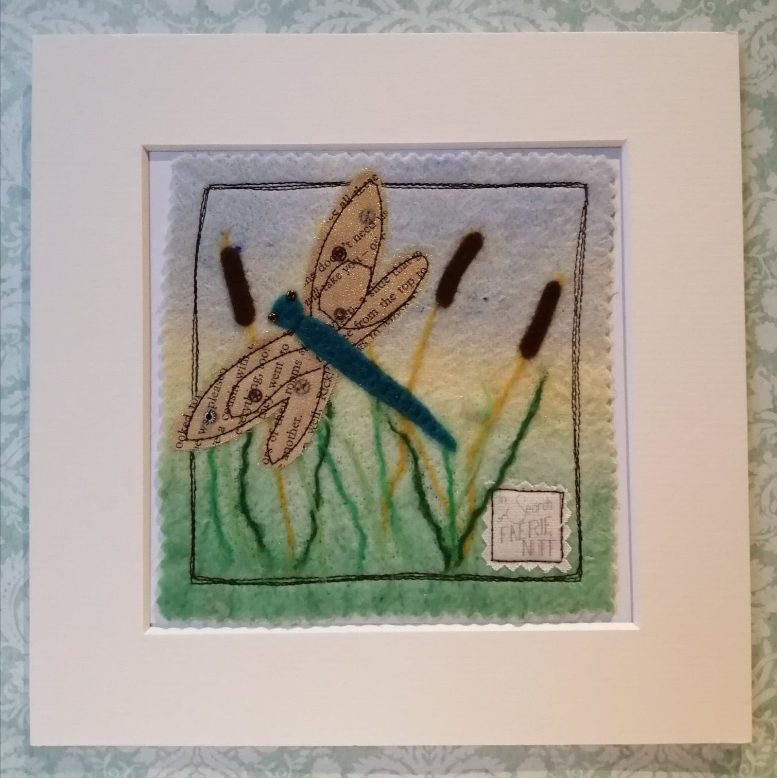 Mixed Media Dragonfly picture