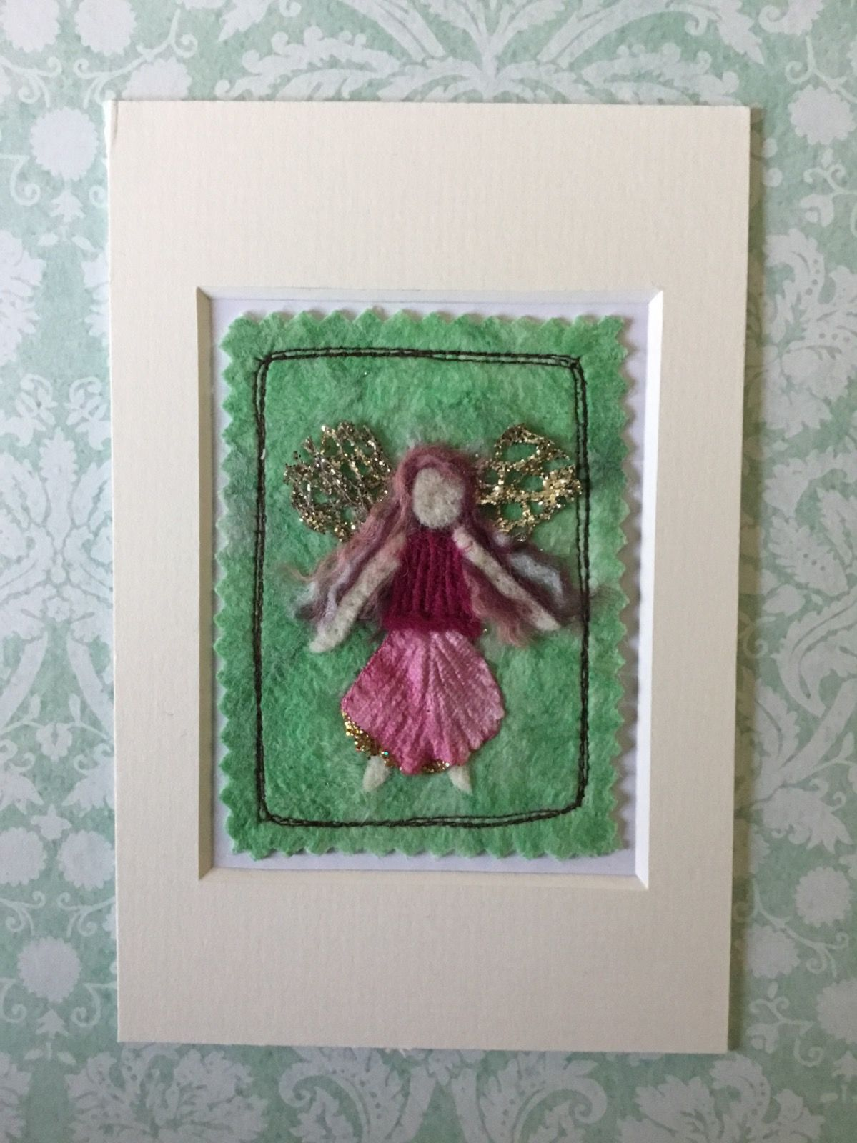 Mixed Media Faerie ACEO