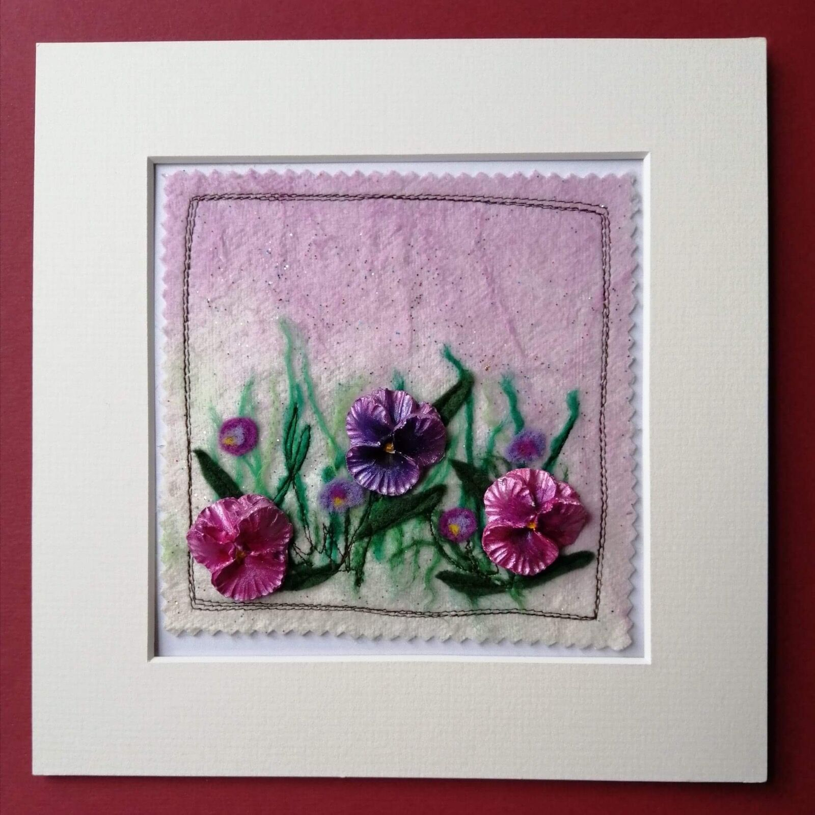 Mixed media Viola picture