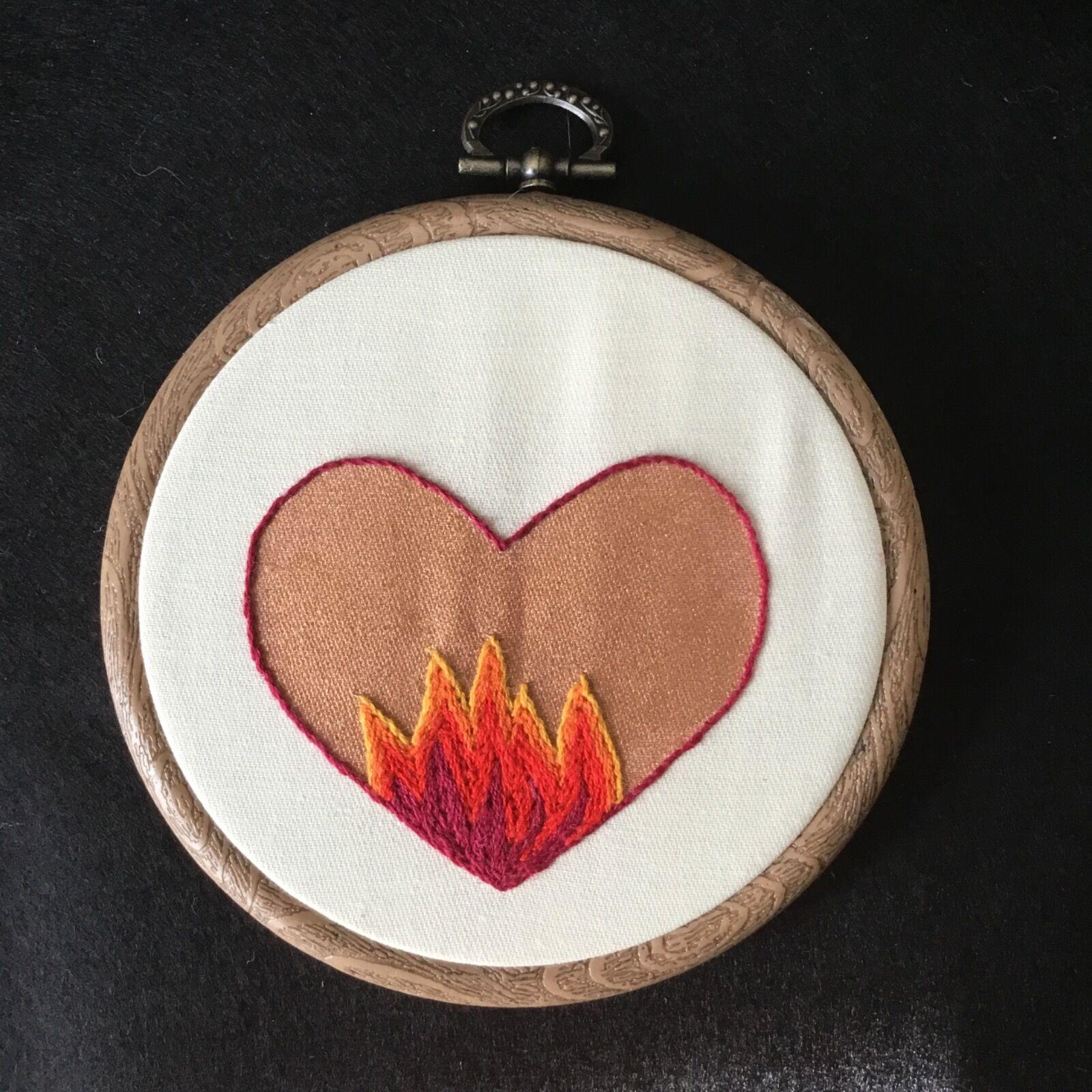 Bleeding Heart 'burning love'