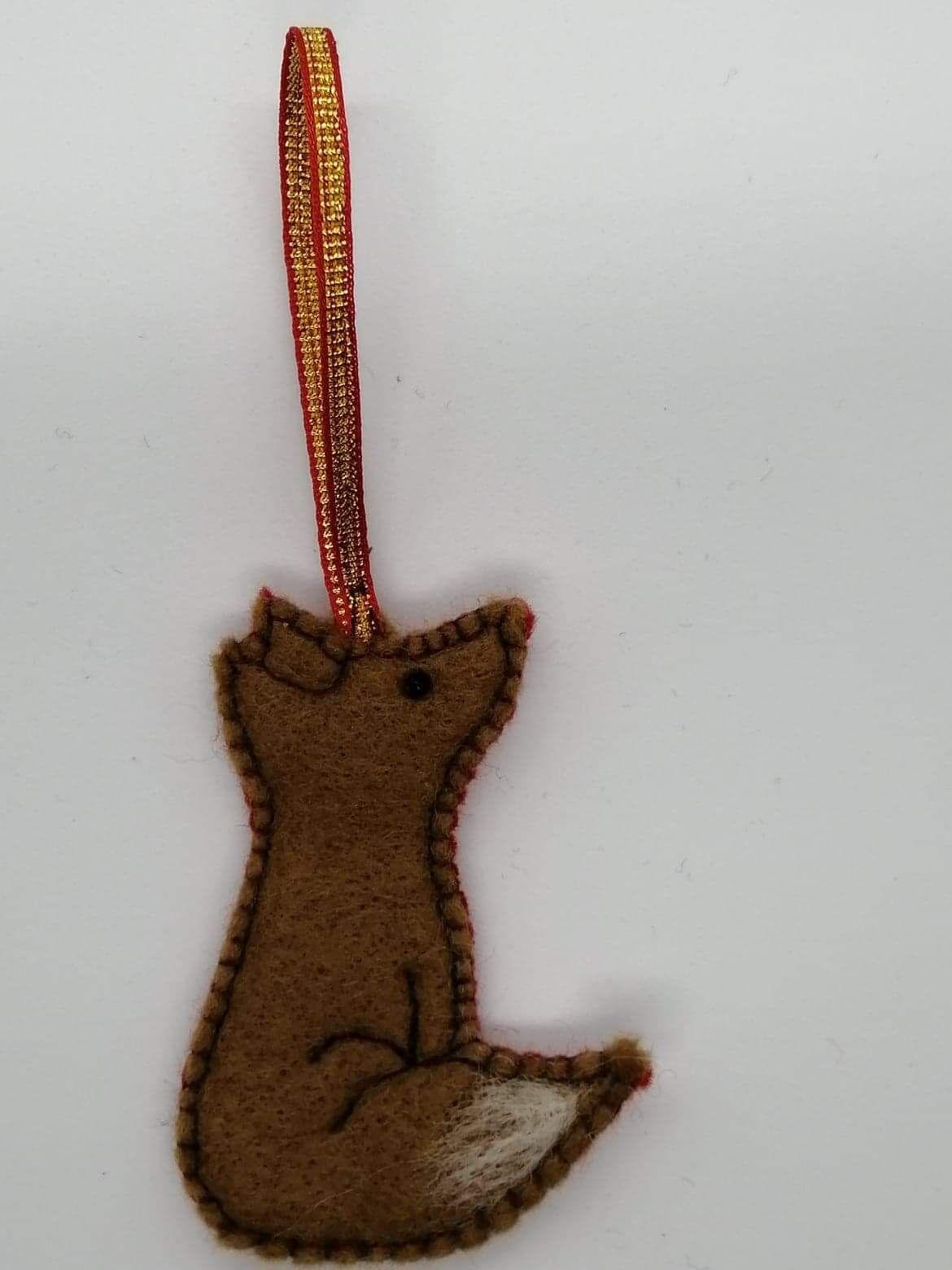 Fox hanging decoration